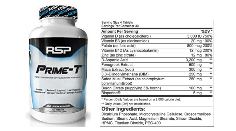 Best testosterone supplement to build muscle  Best